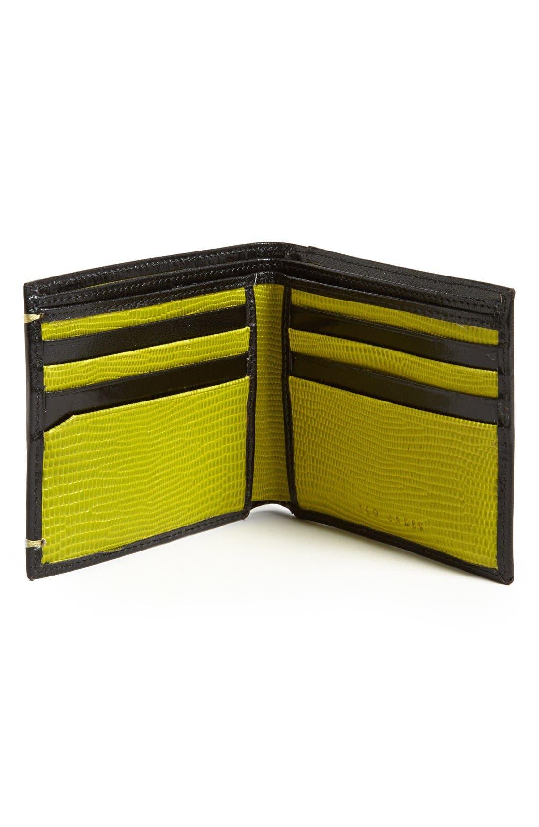 Alternate Image 2  - Ted Baker London Leather Bifold Wallet
