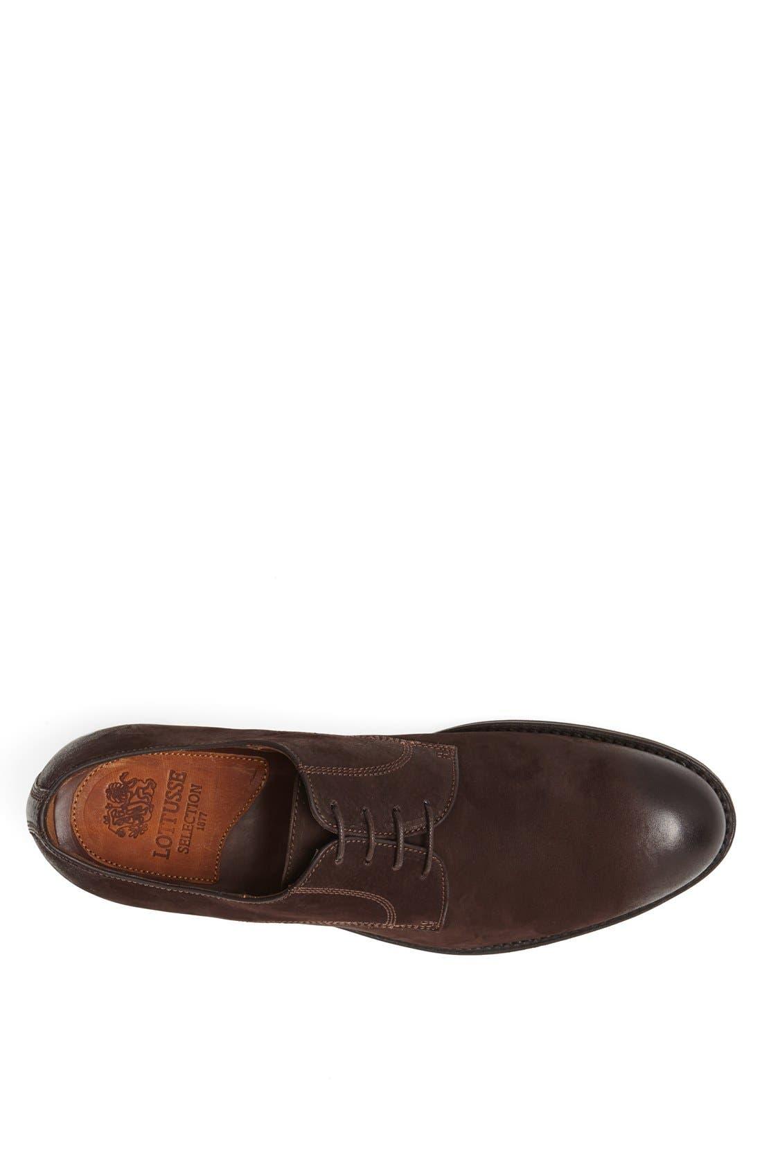 Alternate Image 3  - Lottusse Leather Plain Toe Derby