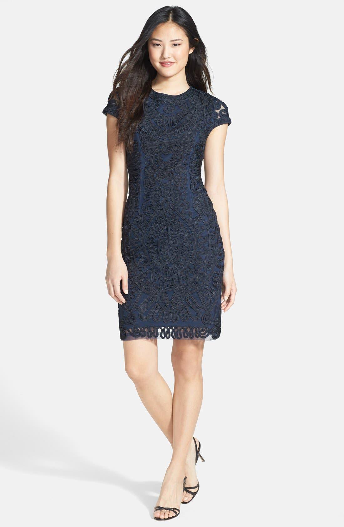 Alternate Image 3  - JS Collections Soutache Dress (Regular & Petite)