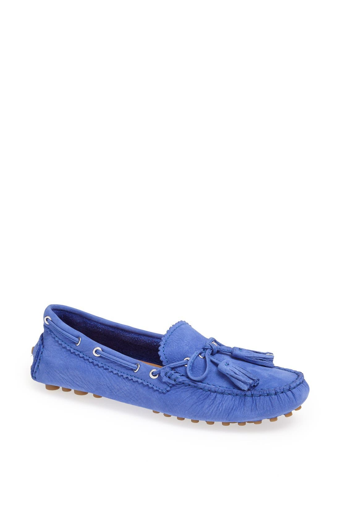 Alternate Image 1 Selected - COACH 'Nadia' Suede Driving Loafer