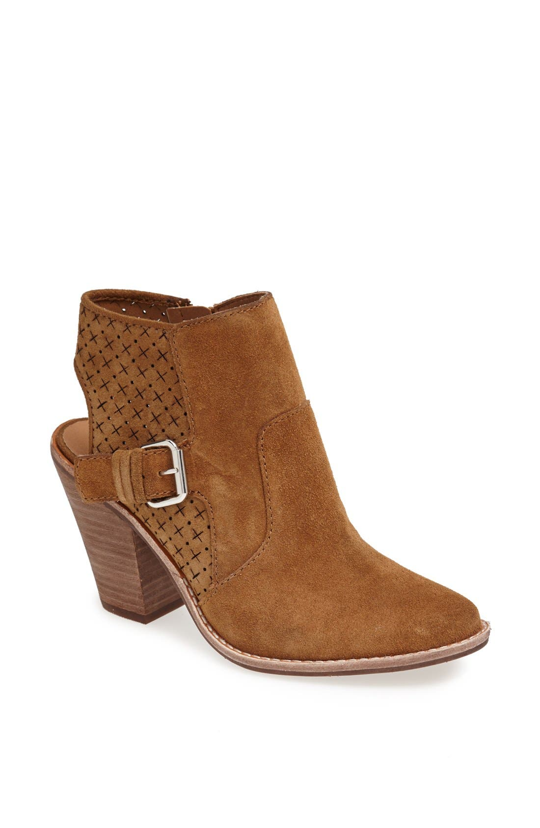 Alternate Image 1 Selected - DV by Dolce Vita 'Calin' Open Back Suede Bootie (Nordstrom Exclusive)