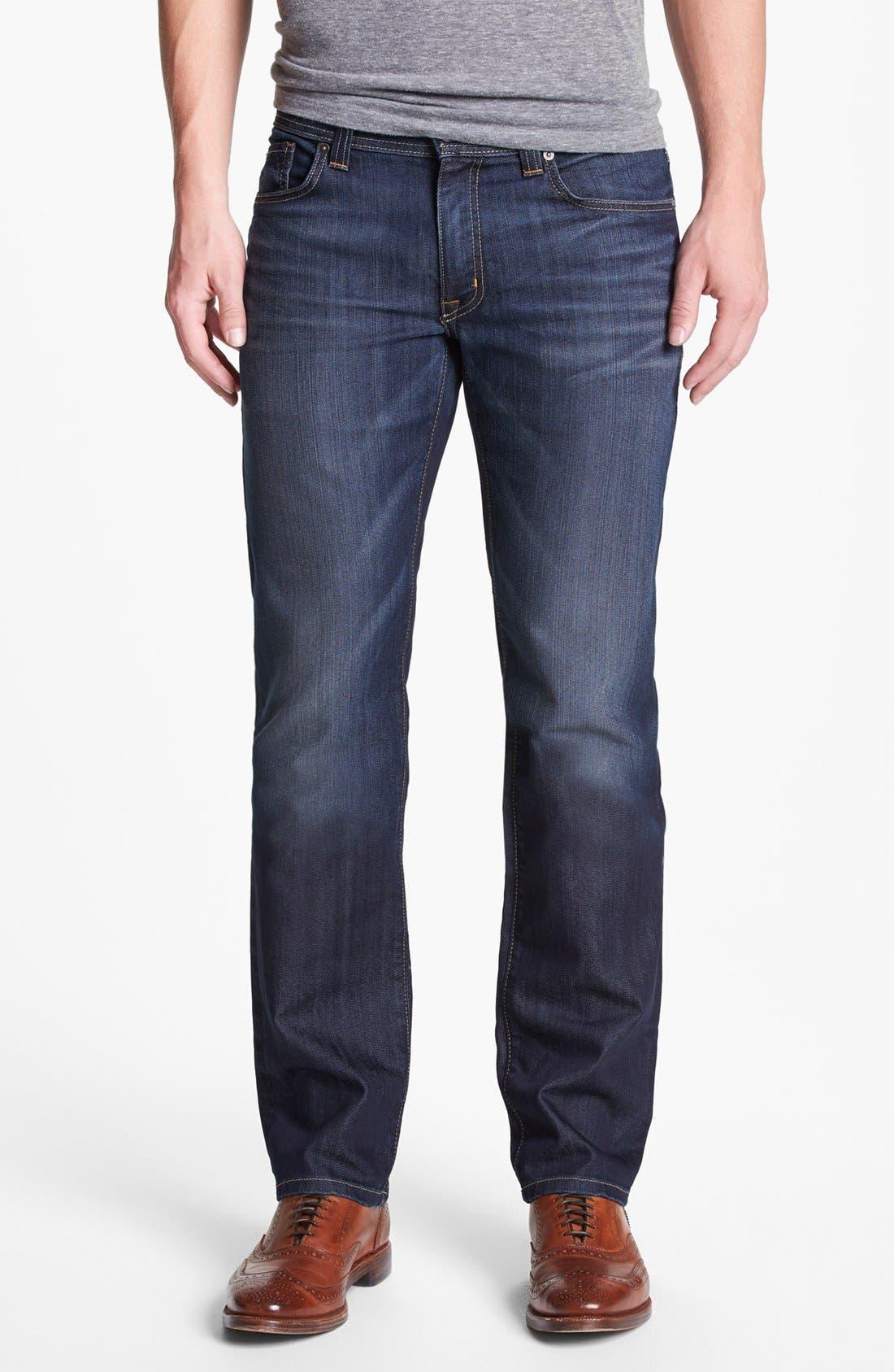 Alternate Image 1 Selected - Fidelity Denim 'Slim Jim' Slim Fit Jeans (Trigger Dark) (Tall)