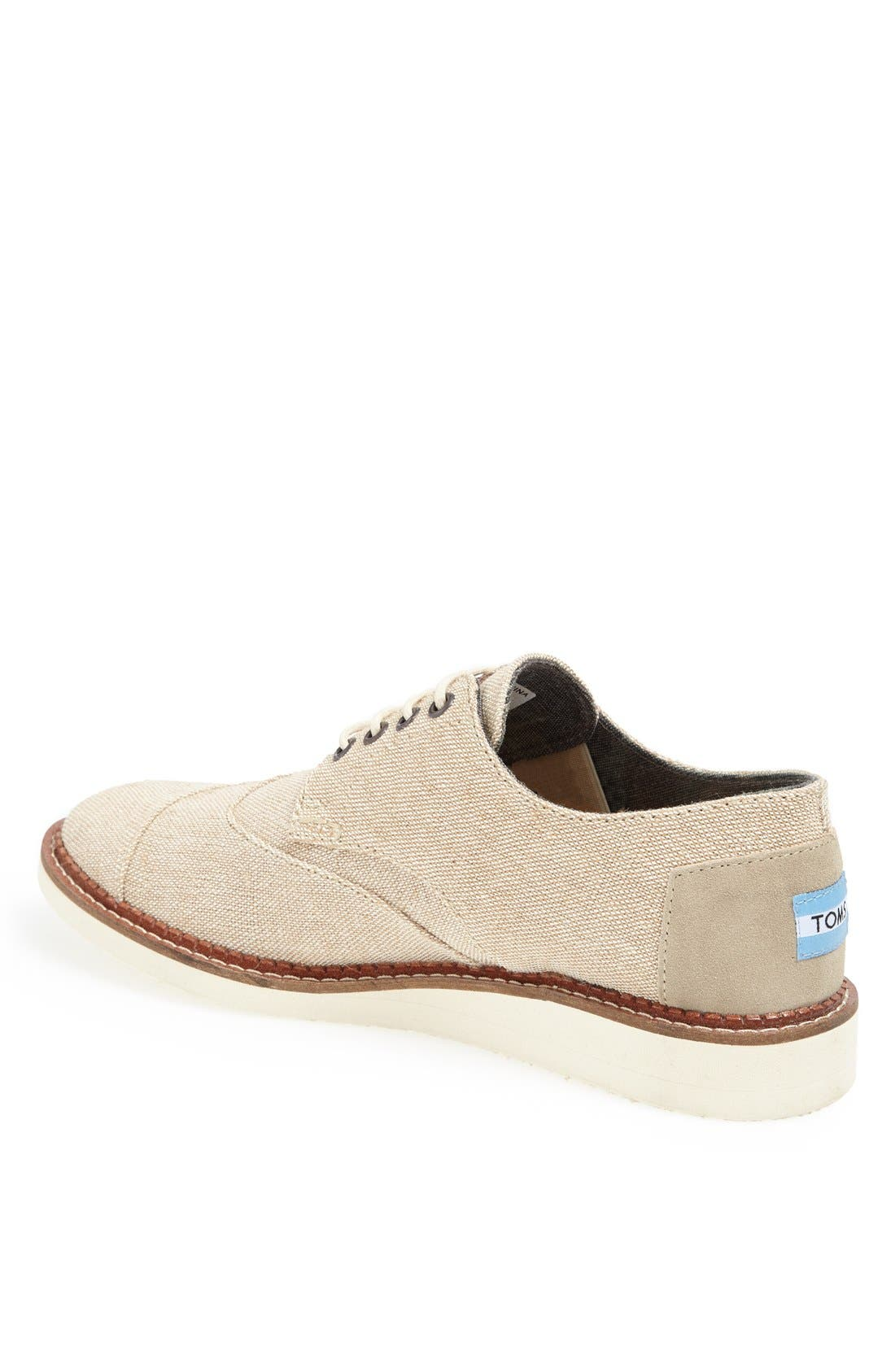 Alternate Image 2  - TOMS 'Brogue' Wingtip (Men)