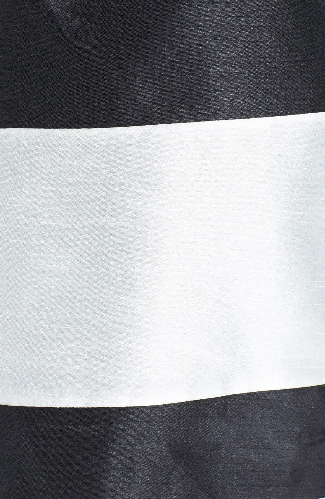 Alternate Image 3  - kensie Colorblock Shantung Skirt