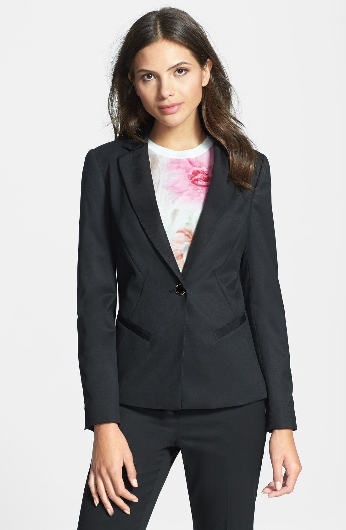 Alternate Image 1 Selected - Ted Baker London Stretch Woven Suit Jacket