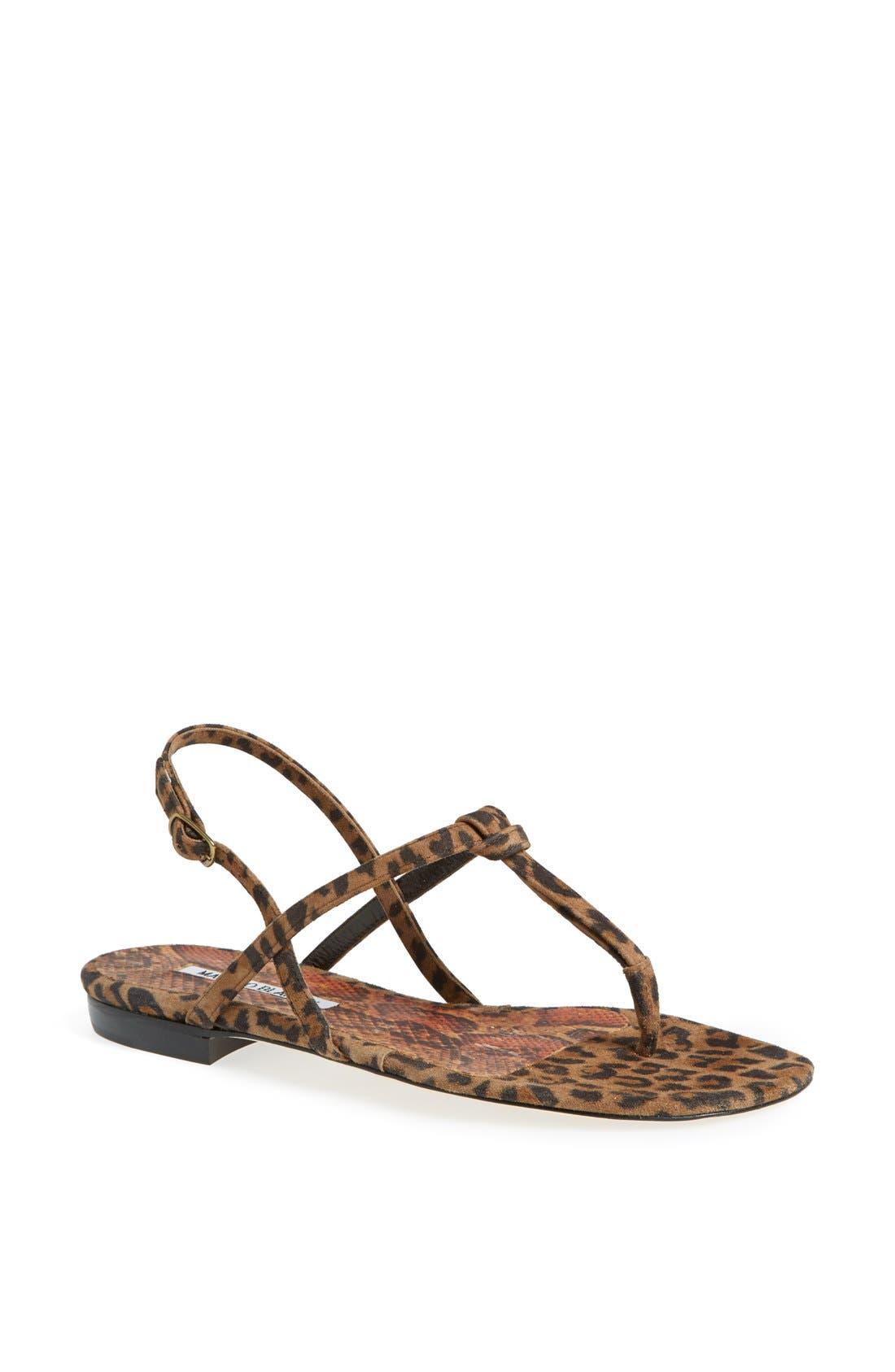 Alternate Image 1 Selected - Manolo Blahnik 'Valig' Sandal