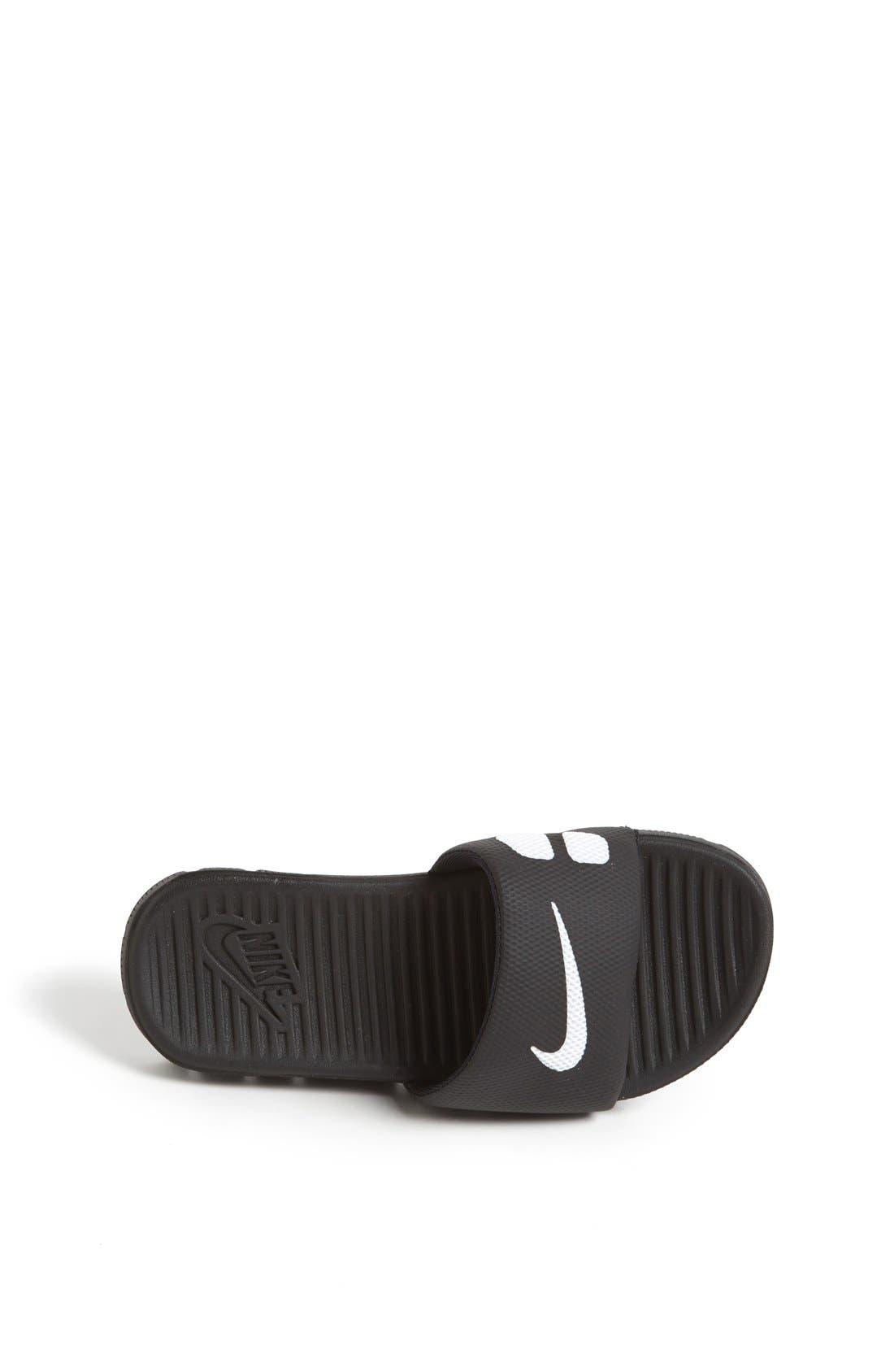 Alternate Image 3  - Nike 'Flex Motion' Sandal (Little Kid & Big Kid)