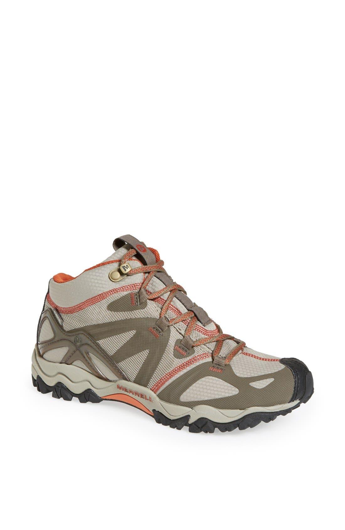Main Image - Merrell 'Grassbow Sport - Mid' Waterproof Hiking Shoe (Women)