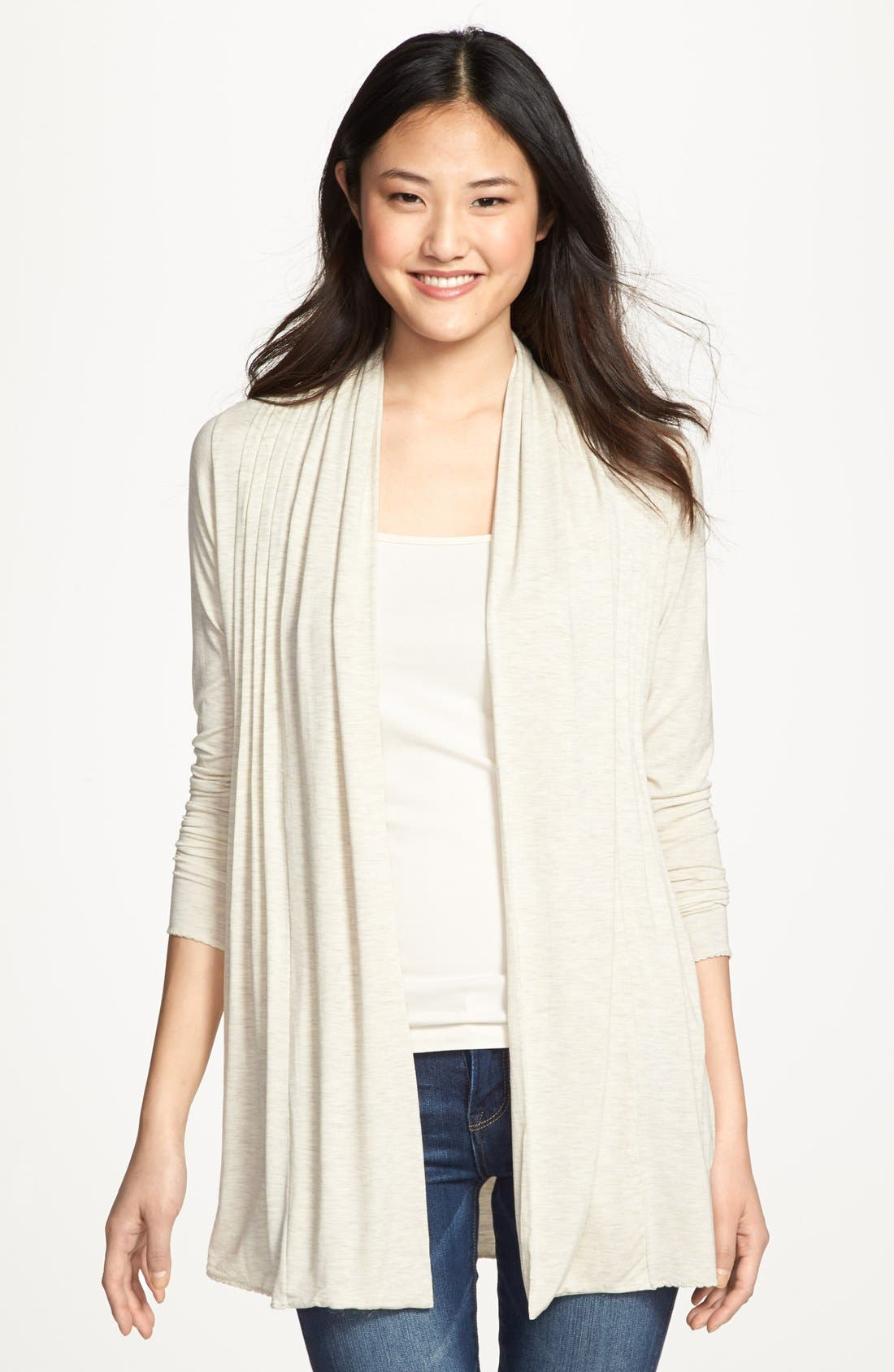 Alternate Image 1 Selected - Kische Open Front Cardigan