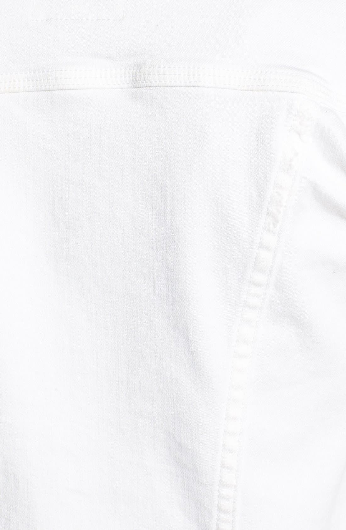 Alternate Image 3  - Lucky Brand 'Dixie' White Denim Jacket
