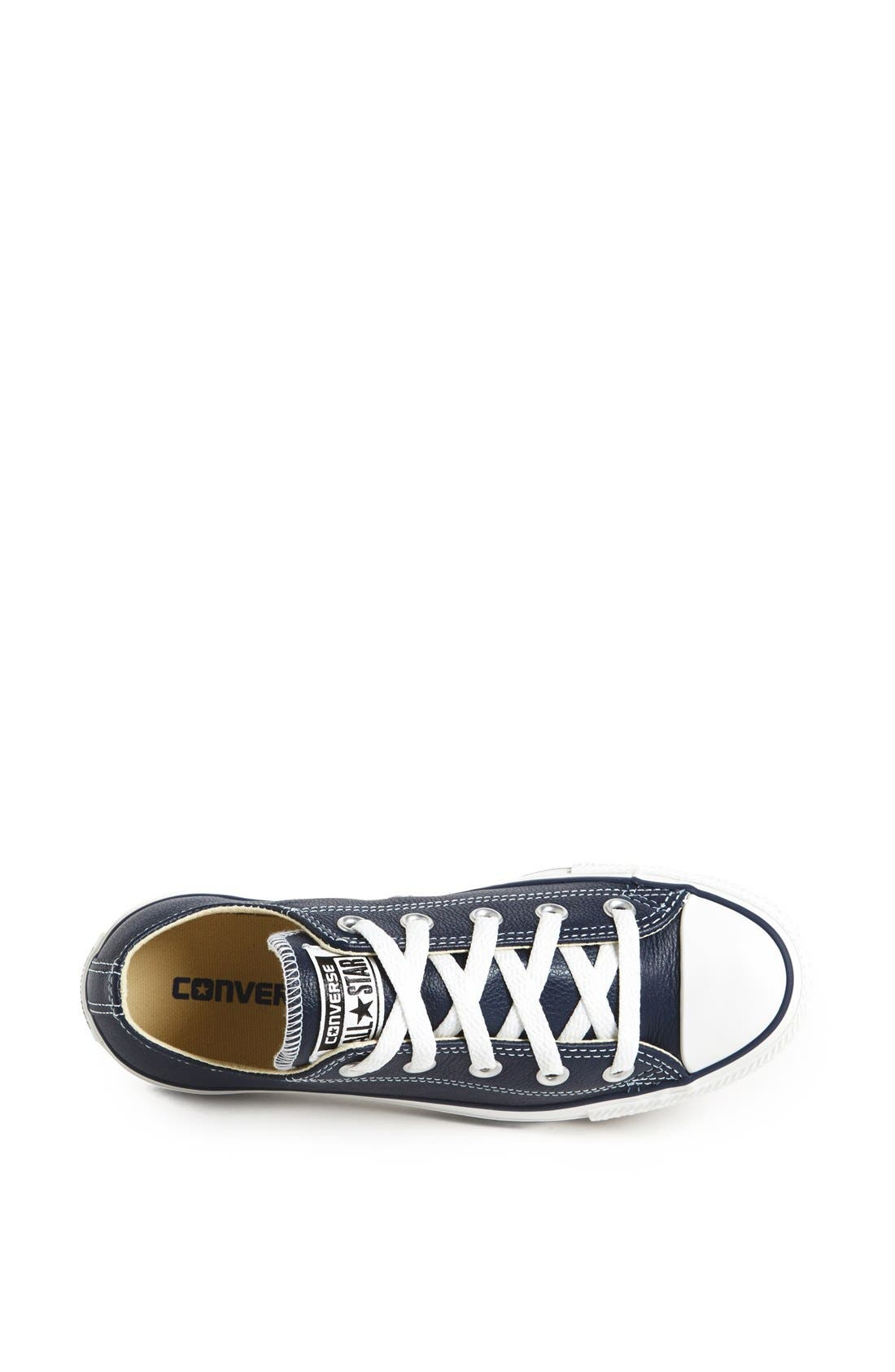 Alternate Image 3  - Converse Chuck Taylor® All Star® 'Ox' Leather Sneaker (Women)