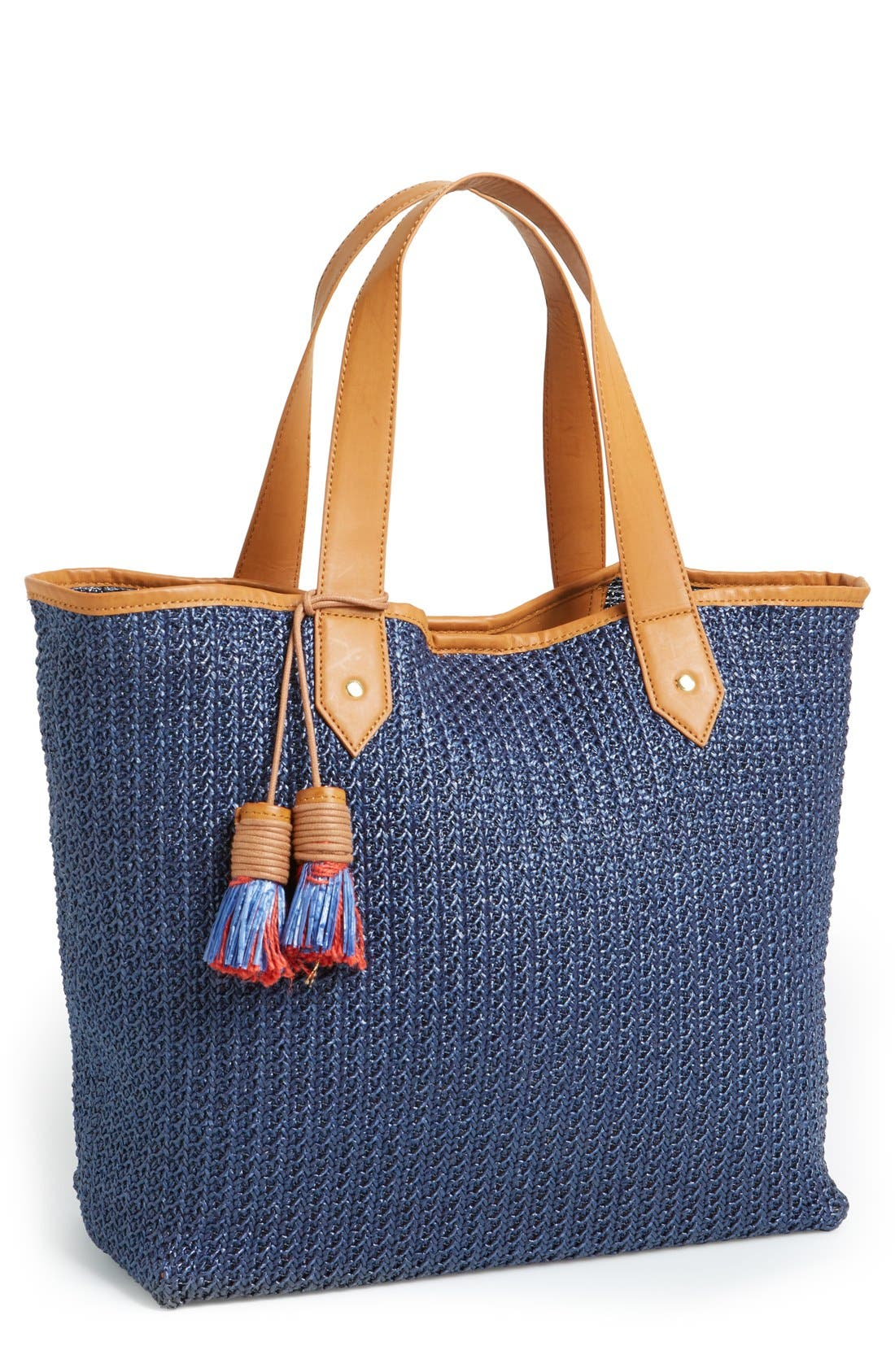 Alternate Image 1 Selected - Steven by Steve Madden 'Bcabo' Straw Tote
