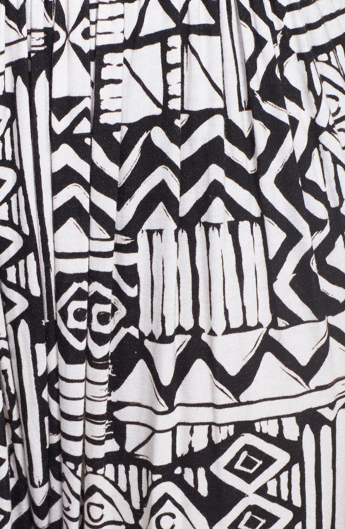 Alternate Image 3  - Nikki Rich Print Harem Pants