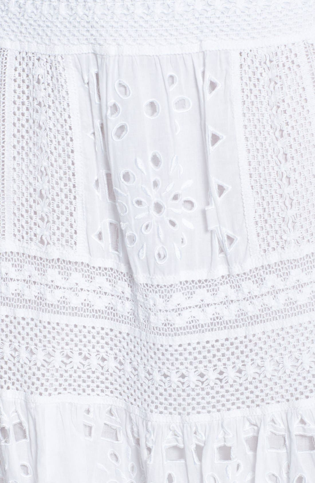 Alternate Image 3  - MICHAEL Michael Kors Eyelet Skirt