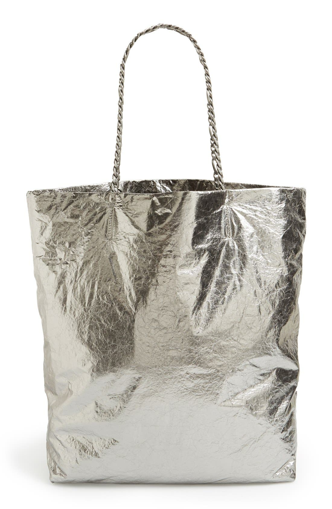 Alternate Image 4  - Lanvin 'Paper Bag' Laminated Lambskin Tote