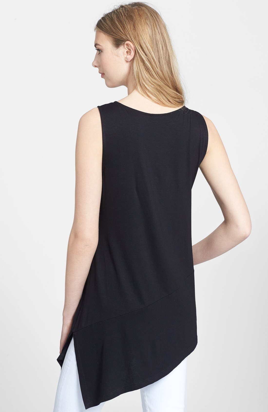 Alternate Image 2  - Eileen Fisher Bateau Neck Sleeveless Tunic (Regular & Petite)