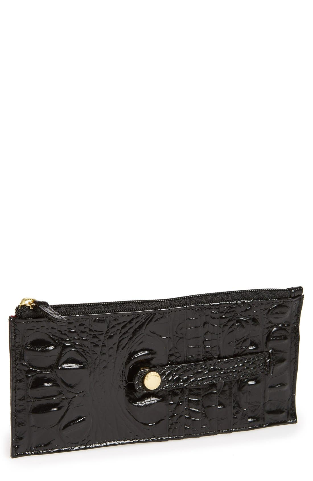 'Melbourne' Credit Card Wallet,                             Main thumbnail 1, color,                             Black