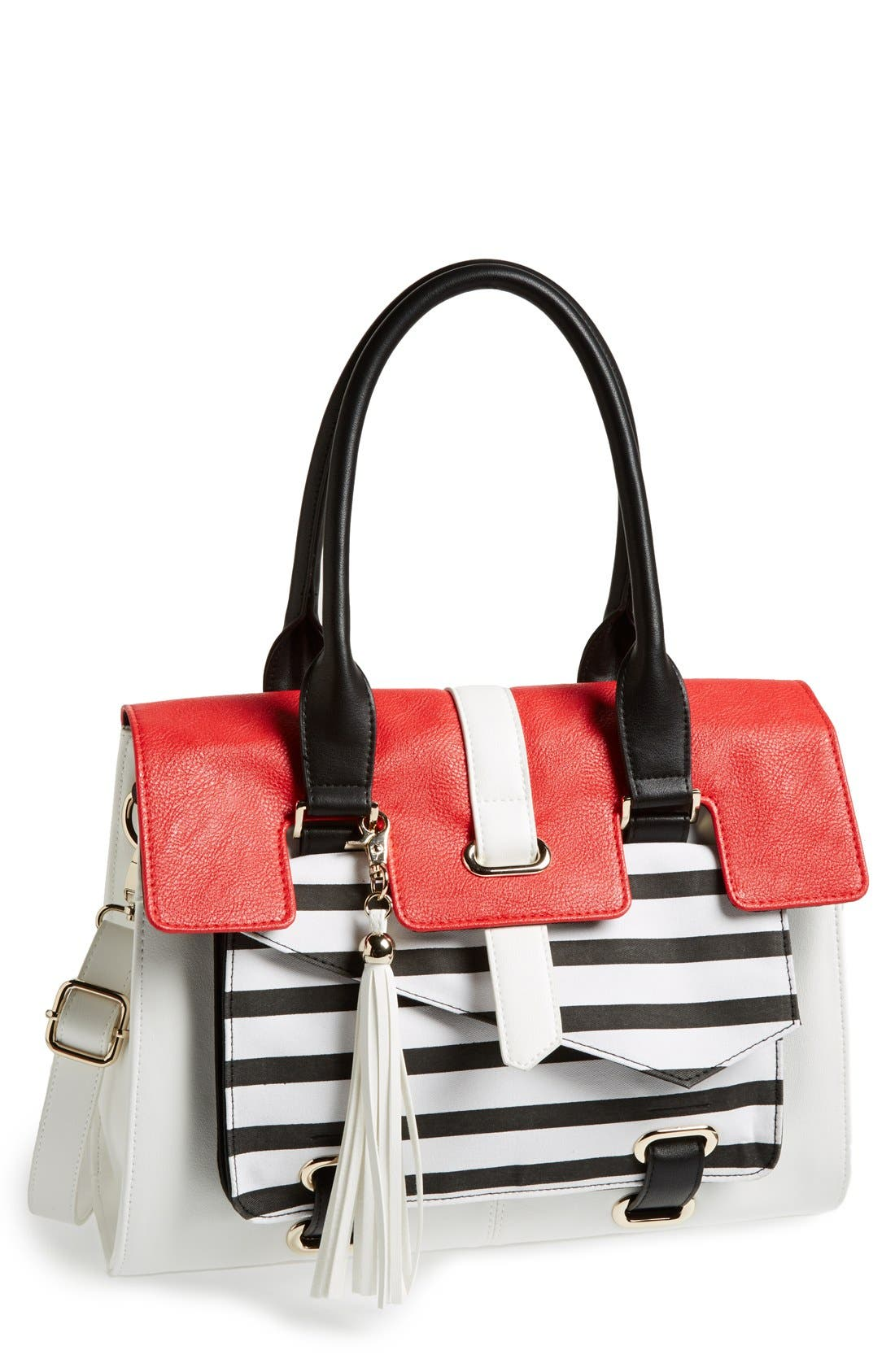 Alternate Image 1 Selected - POVERTY FLATS by rian Flap Satchel