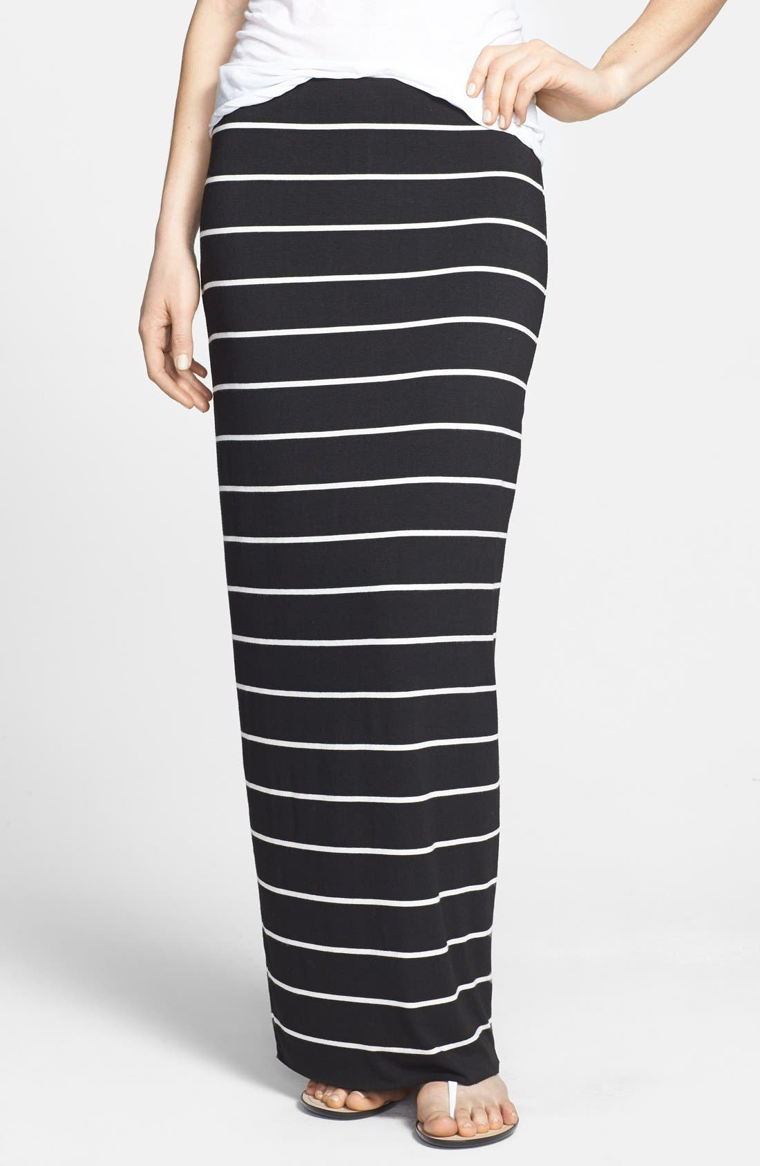 Main Image - Bailey 44 'Masakela' Stripe Maxi Skirt