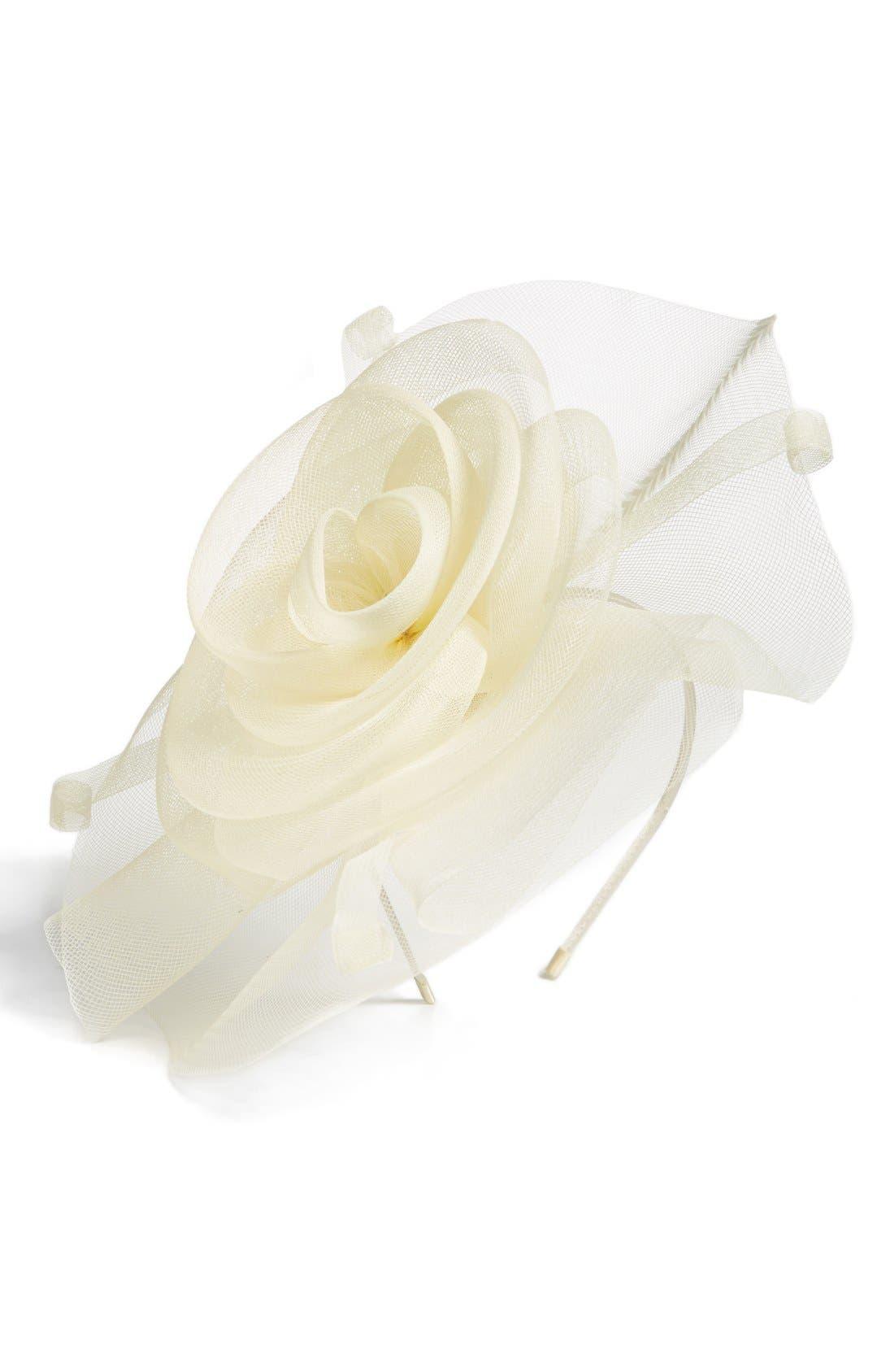 Alternate Image 2  - Tasha 'Fabulous Floral' Fascinator Headband