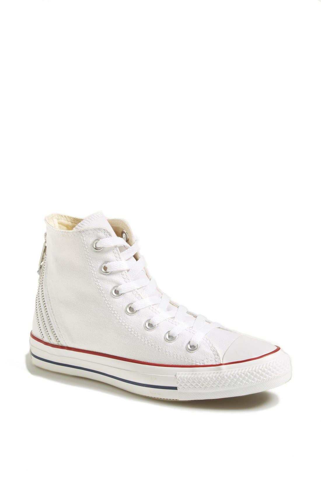 Alternate Image 1 Selected - Converse Chuck Taylor® All Star® Triple Zip Canvas Sneaker (Women)