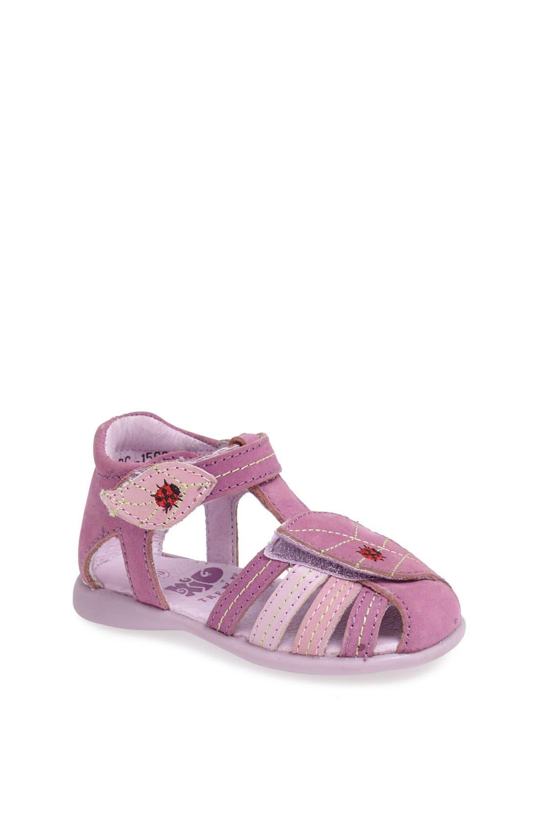 Main Image - Kio Trend 'Lena' Sandal (Baby, Walker & Toddler)