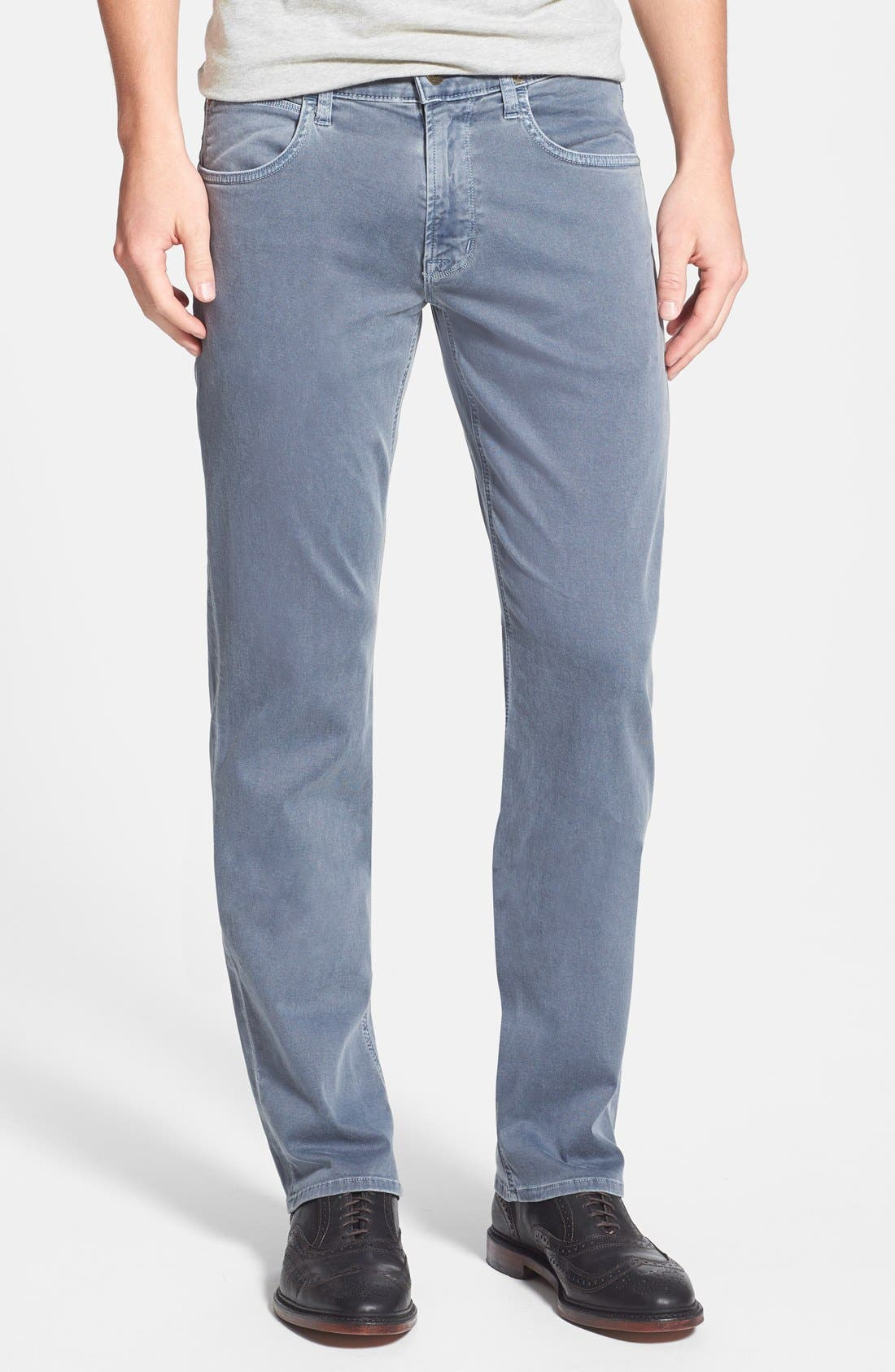 Main Image - Hudson Jeans 'Byron' Straight Leg Jeans (Sunfaded Petrol)