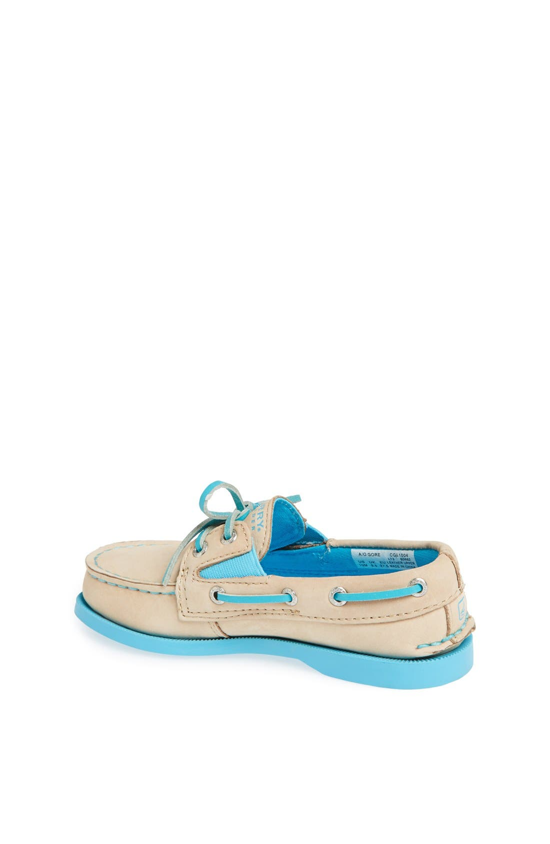 Alternate Image 2  - Sperry Top-Sider® Kids 'Authentic Original' Boat Shoe (Walker, Toddler, Little Kid & Big Kid)