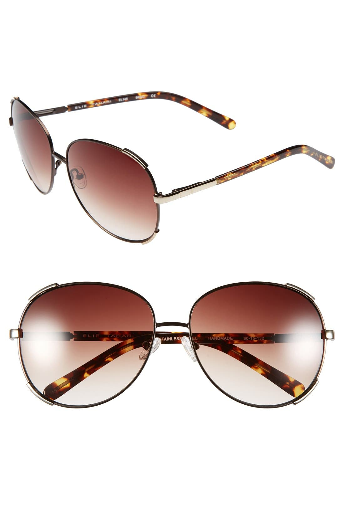 Alternate Image 1 Selected - Elie Tahari 60mm Sunglasses