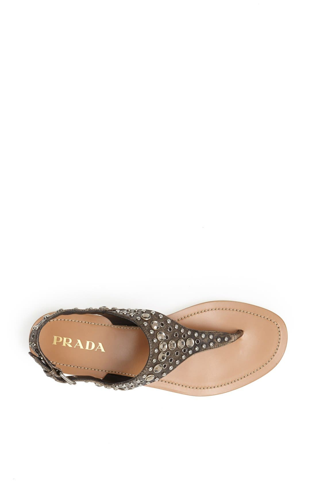 Alternate Image 3  - Prada Studded Sandal