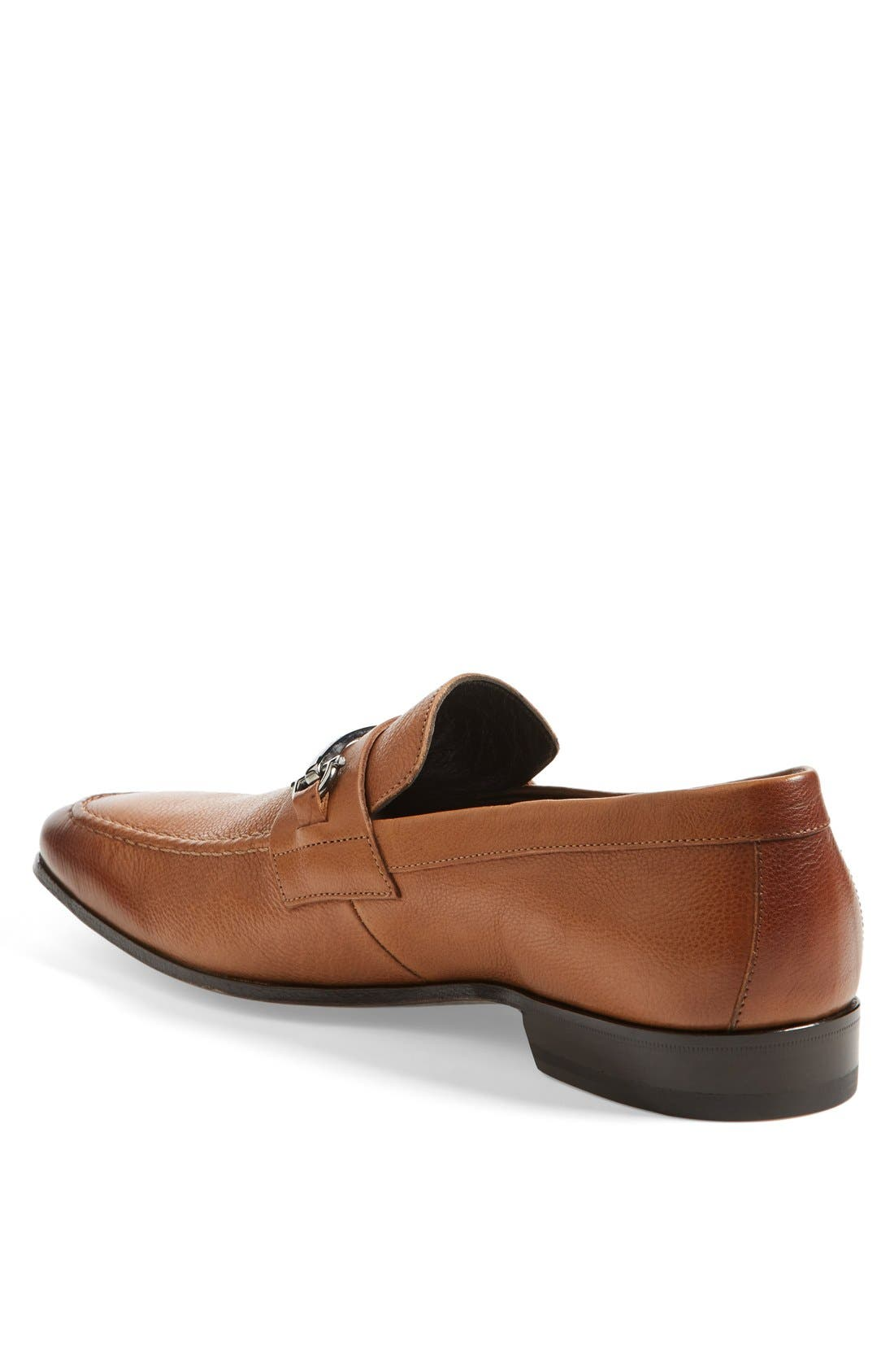 'Mamante II' Pebbled Leather Loafer,                             Alternate thumbnail 2, color,                             Light Brown