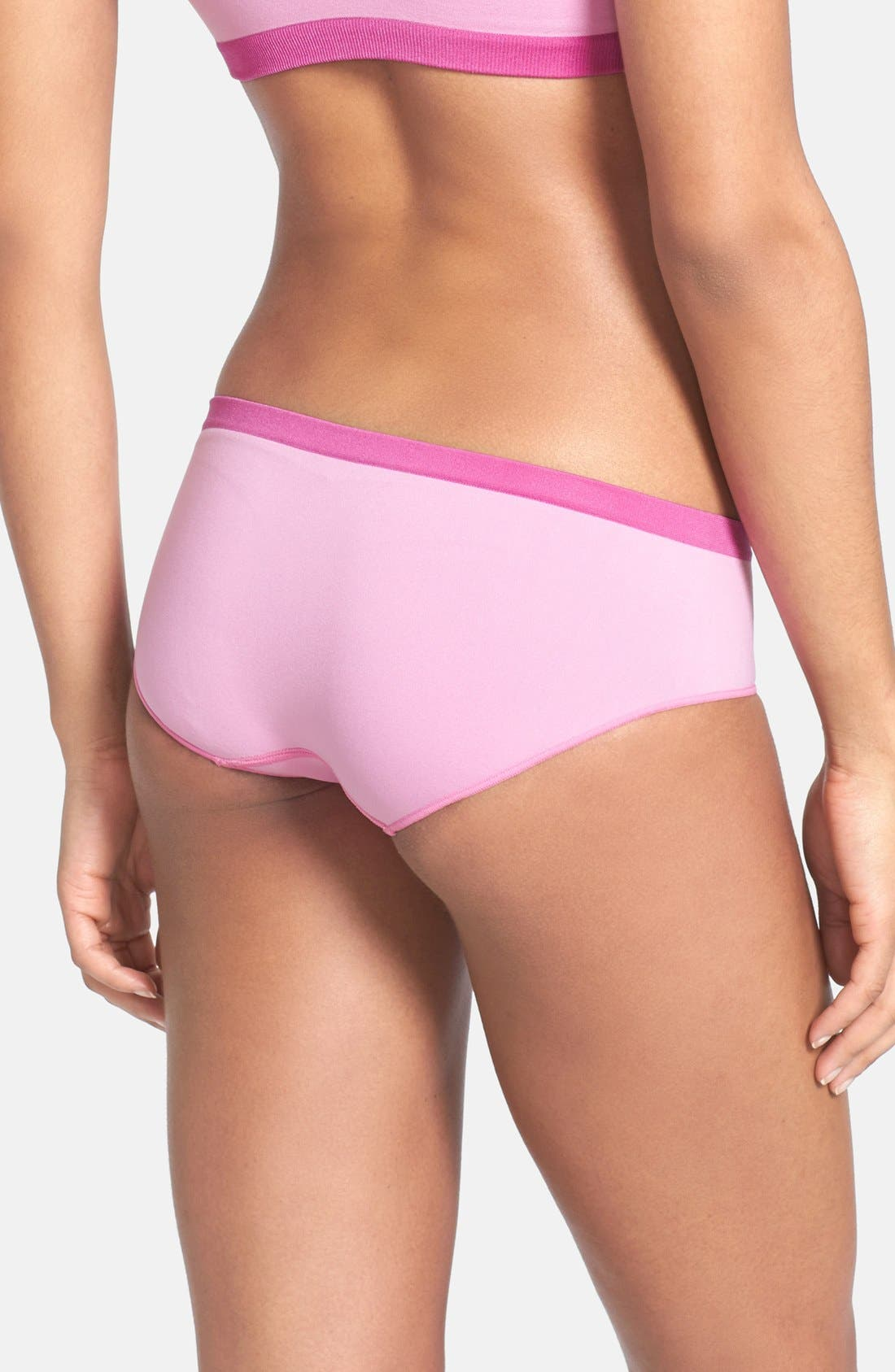 Alternate Image 2  - Shimera Seamless Colorblock Hipster Briefs