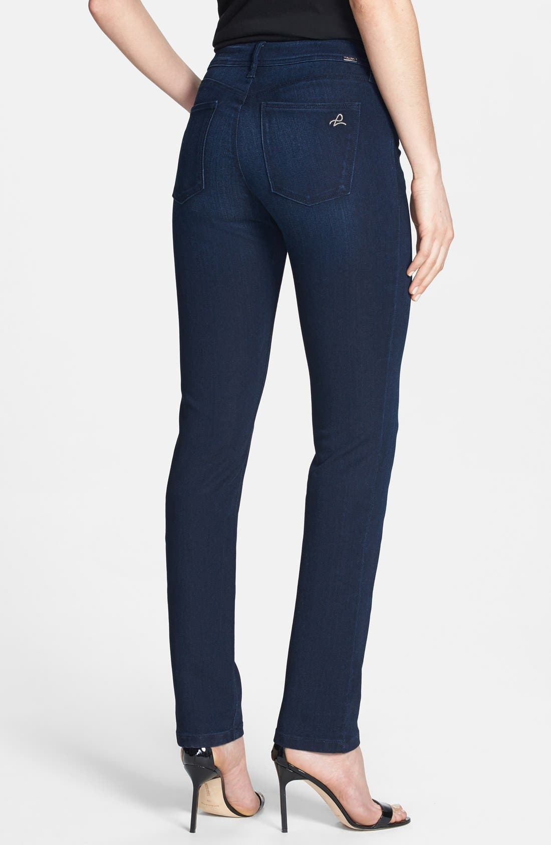 Alternate Image 2  - DL1961 'Coco' Curvy Straight Jeans (Wooster)