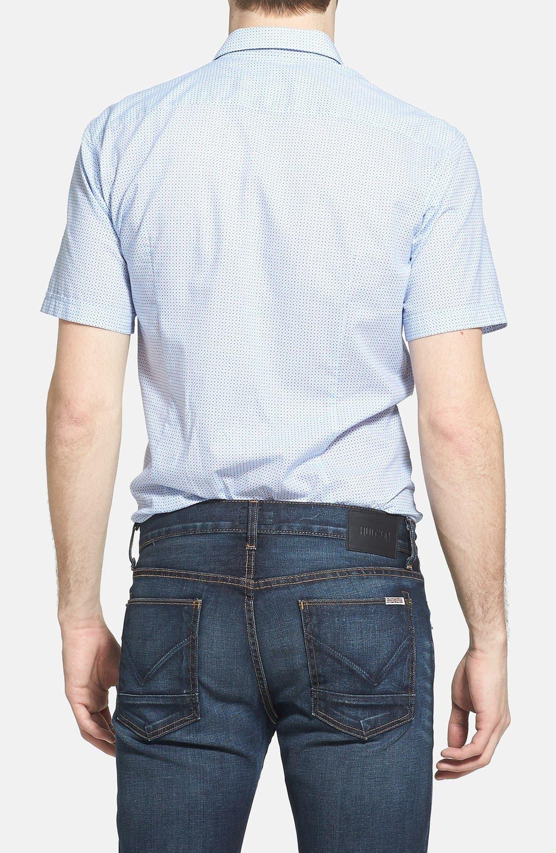 Alternate Image 2  - BOSS HUGO BOSS 'Marco' Slim Fit Short Sleeve Print Sport Shirt
