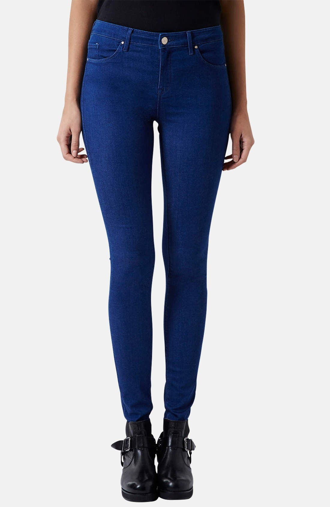 Topshop Moto 'Leigh' Skinny Jeans