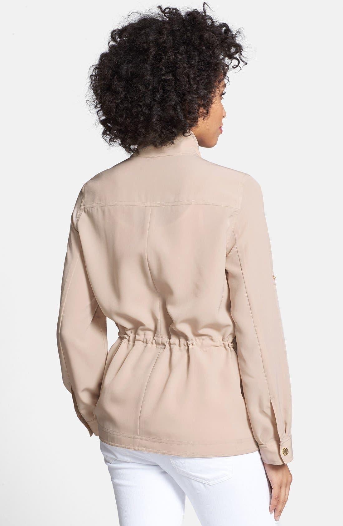 Alternate Image 2  - Calvin Klein Soft Camp Jacket