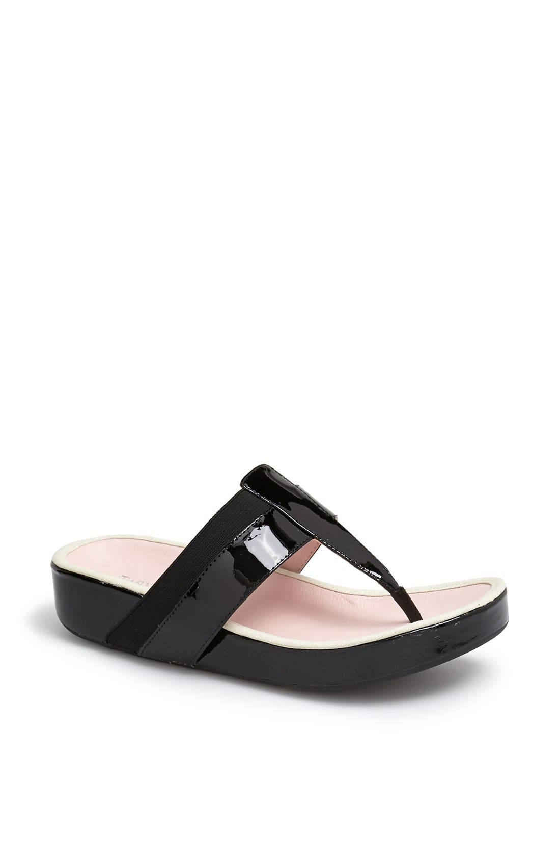 Alternate Image 1 Selected - Taryn Rose 'August' Thong Sandal