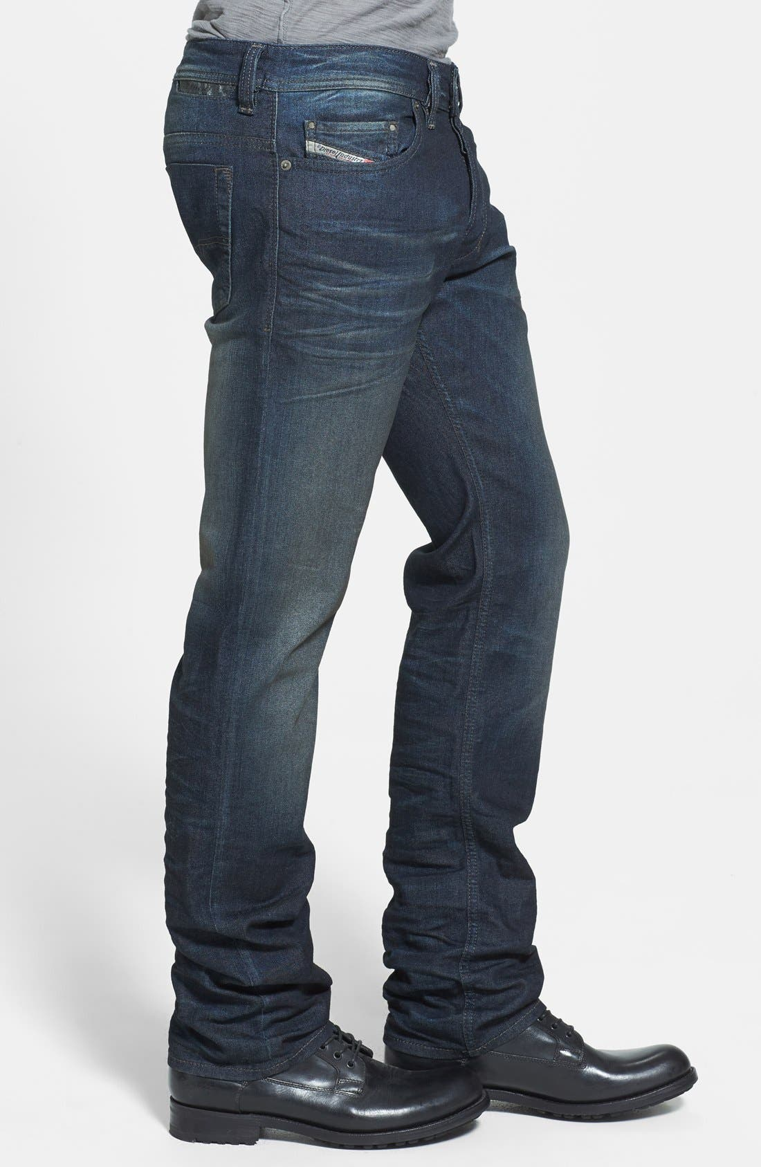 'Safado' Slim Fit Jeans,                             Alternate thumbnail 4, color,                             827K