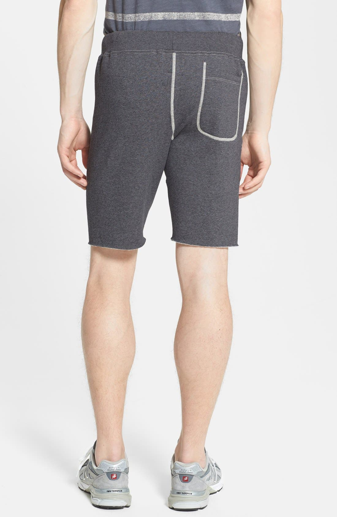 Alternate Image 2  - Todd Snyder + Champion Knit Cotton Shorts