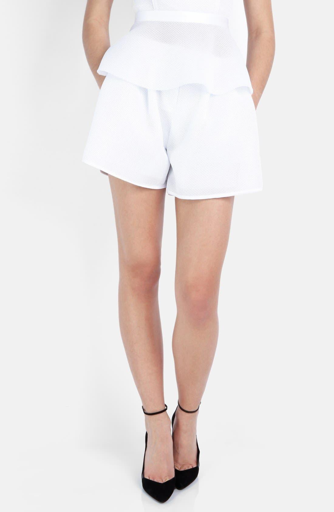 Alternate Image 1 Selected - maje Mesh Shorts