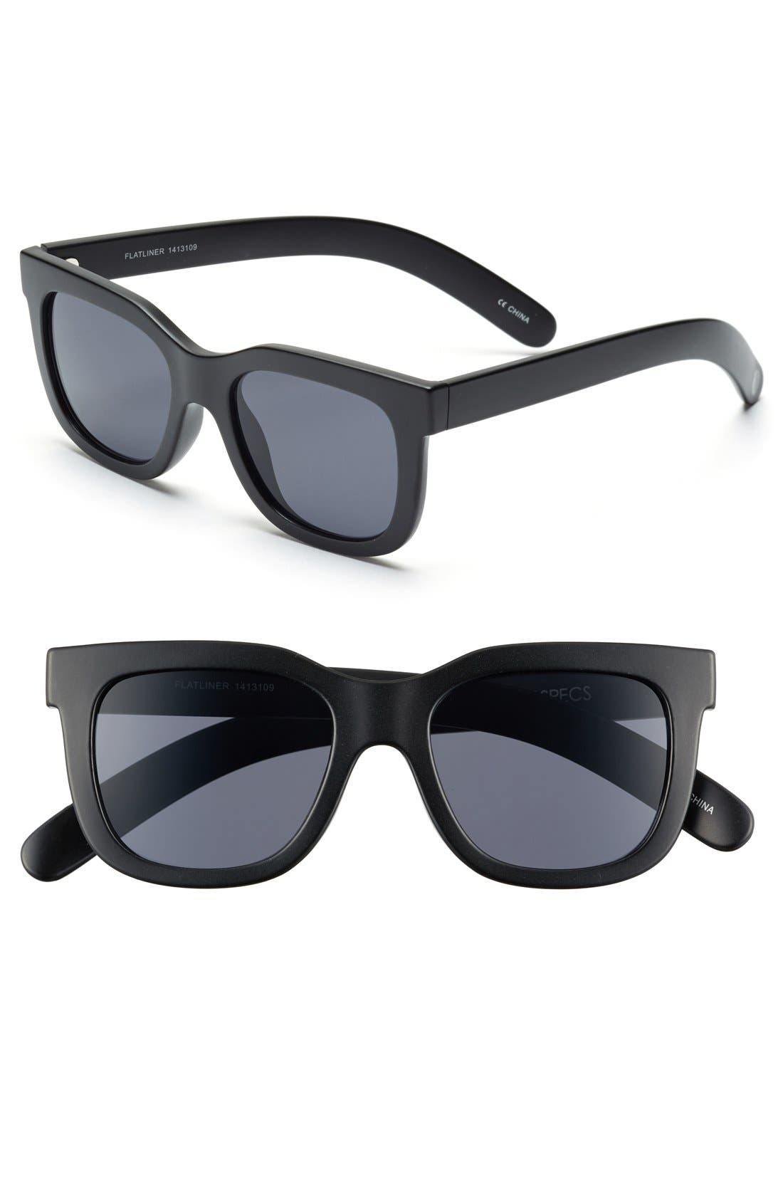 Alternate Image 1 Selected - Craig and Karl x Le Specs 'Flatliner' 50mm Sunglasses