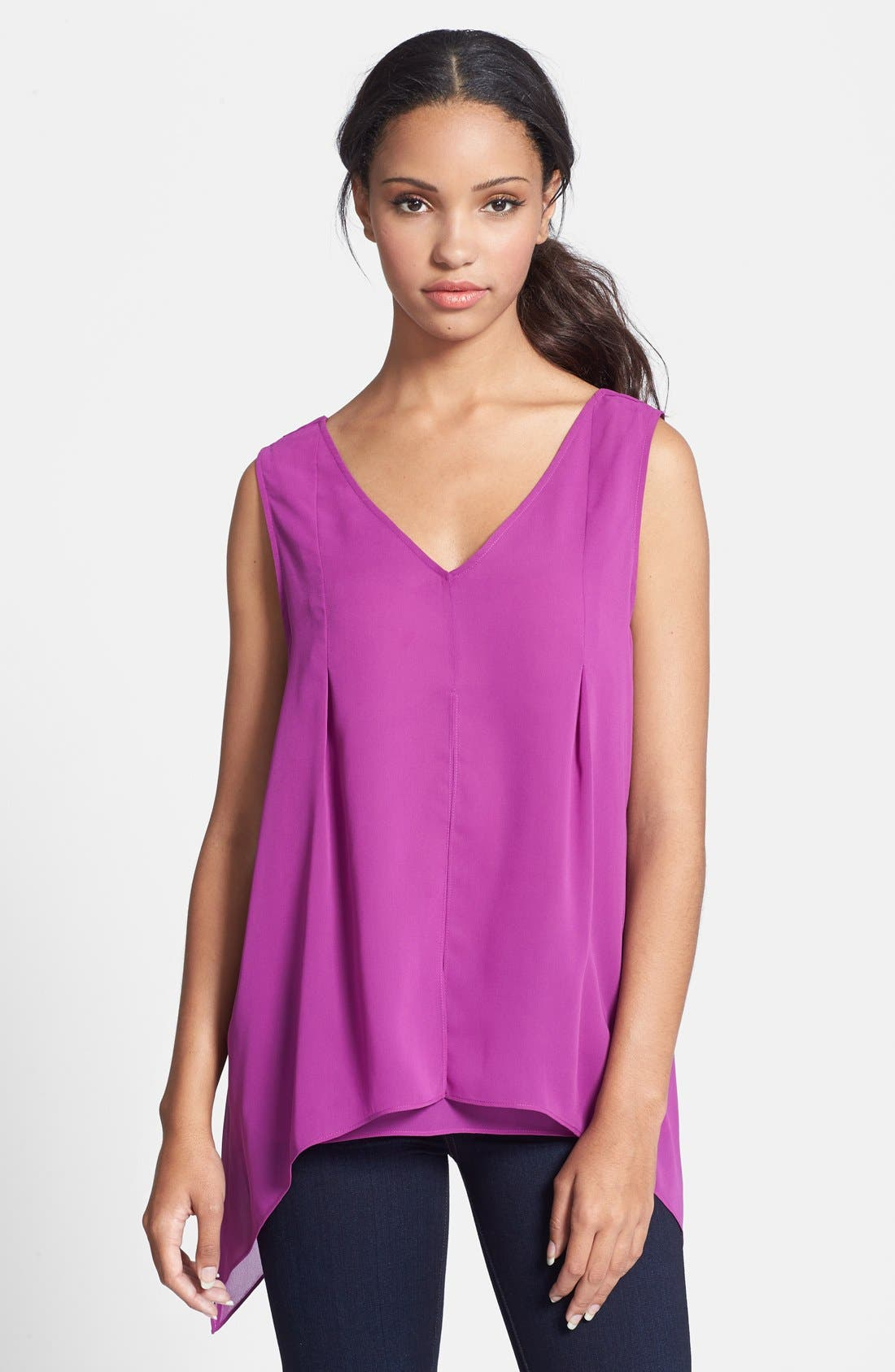 Main Image - Kenneth Cole New York 'Madison' Sleeveless Blouse