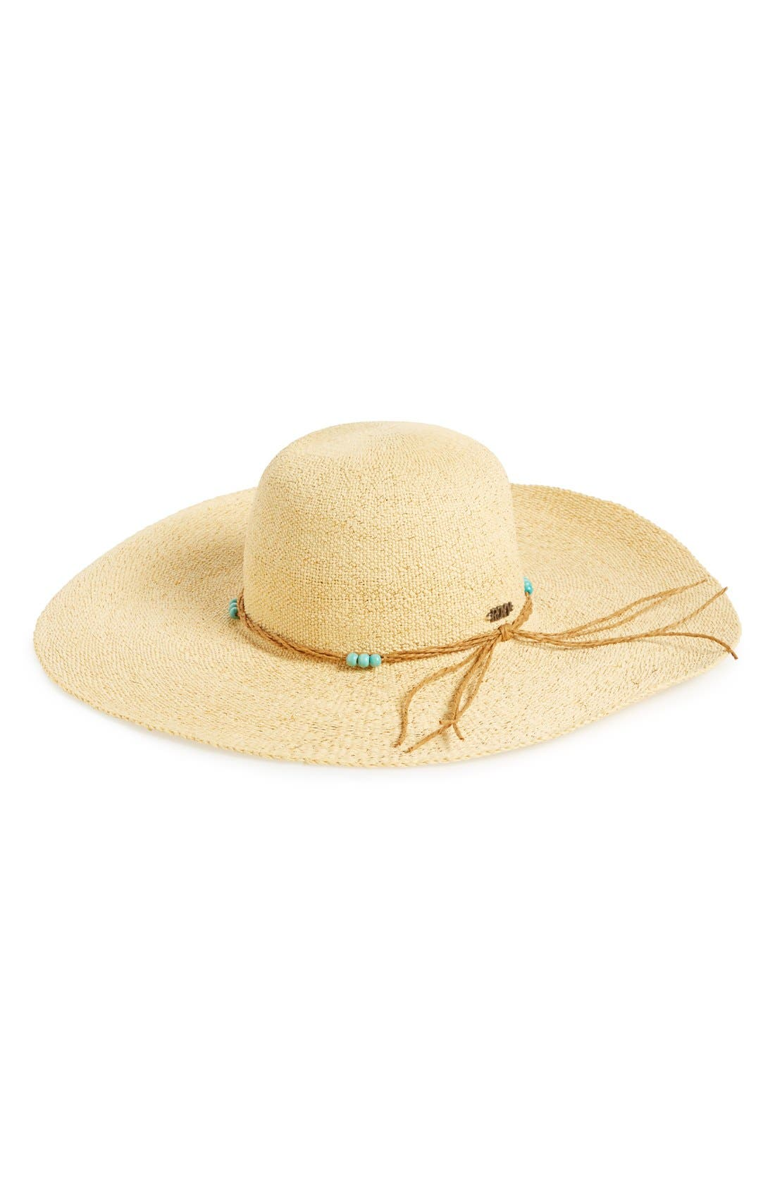 Alternate Image 1 Selected - Roxy 'By the Sea' Floppy Hat