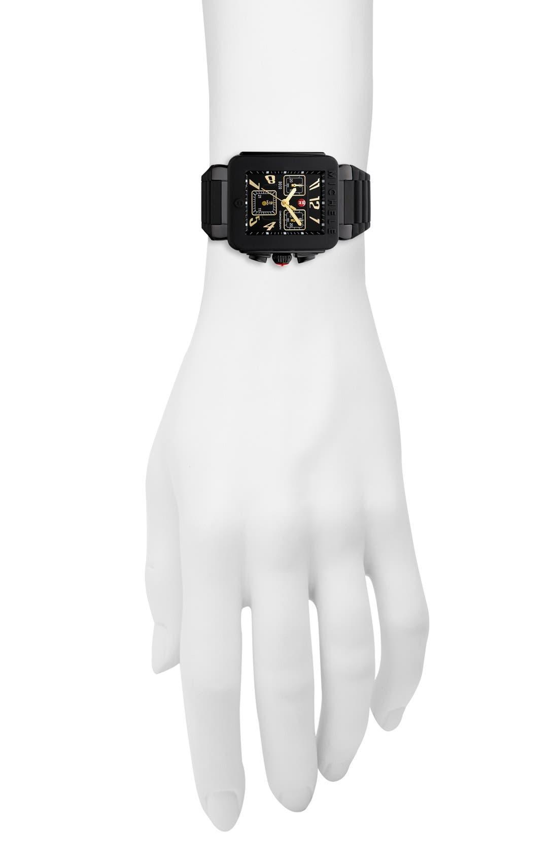 Alternate Image 2  - MICHELE 'Park Jelly Bean' Watch, 33mm x 36mm