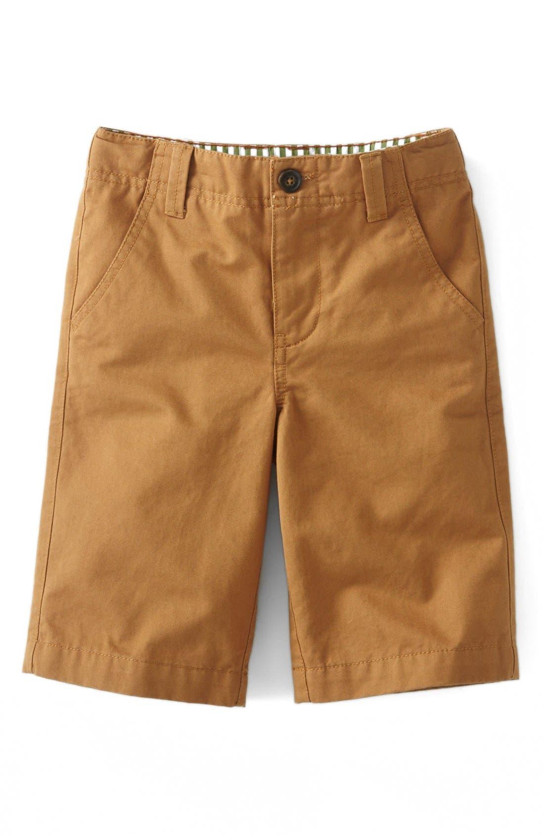 Alternate Image 1 Selected - Mini Boden Chino Shorts (Toddler Boys, Little Boys & Big Boys)