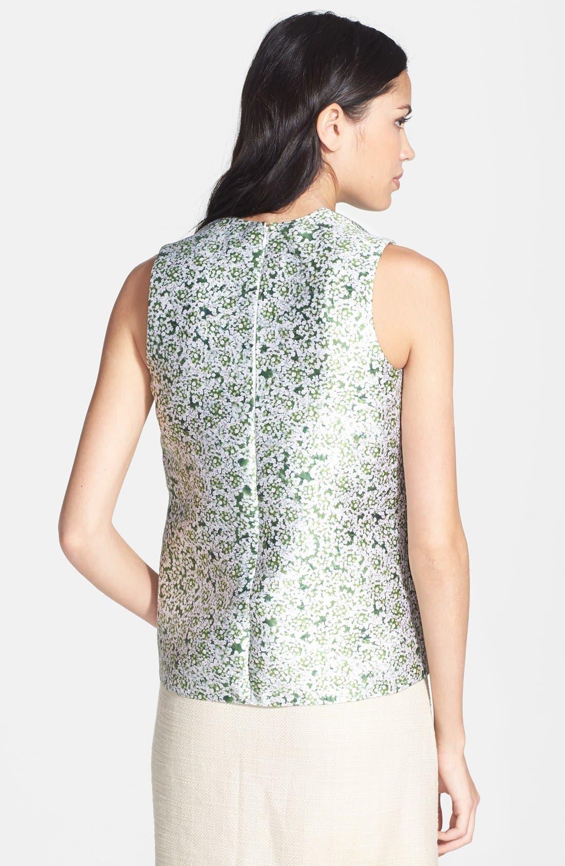 Alternate Image 2  - Tory Burch 'Jessa' Print Silk Top