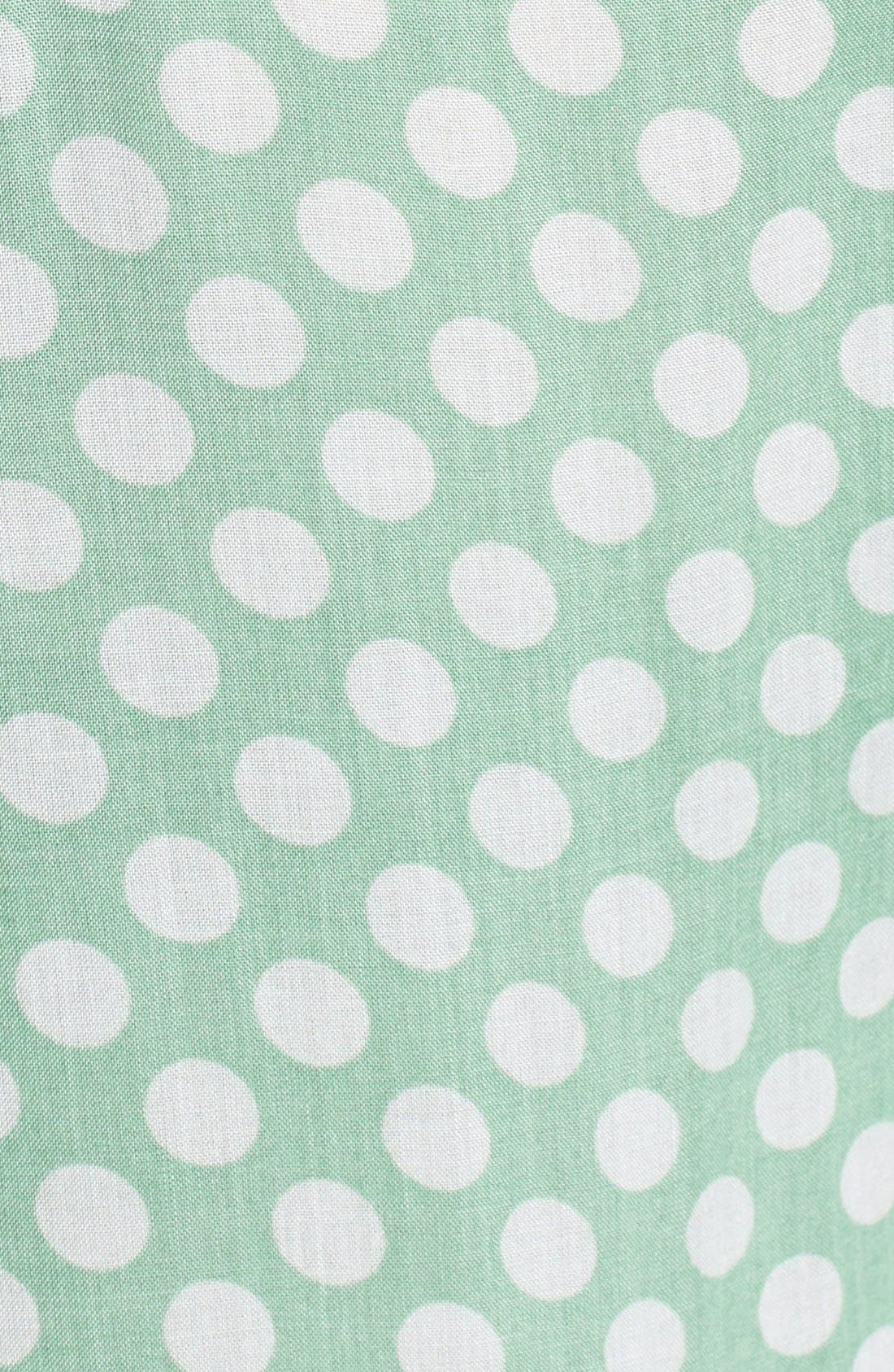 Alternate Image 3  - Sandra Ingrish Sleeveless Dot Print Blouse