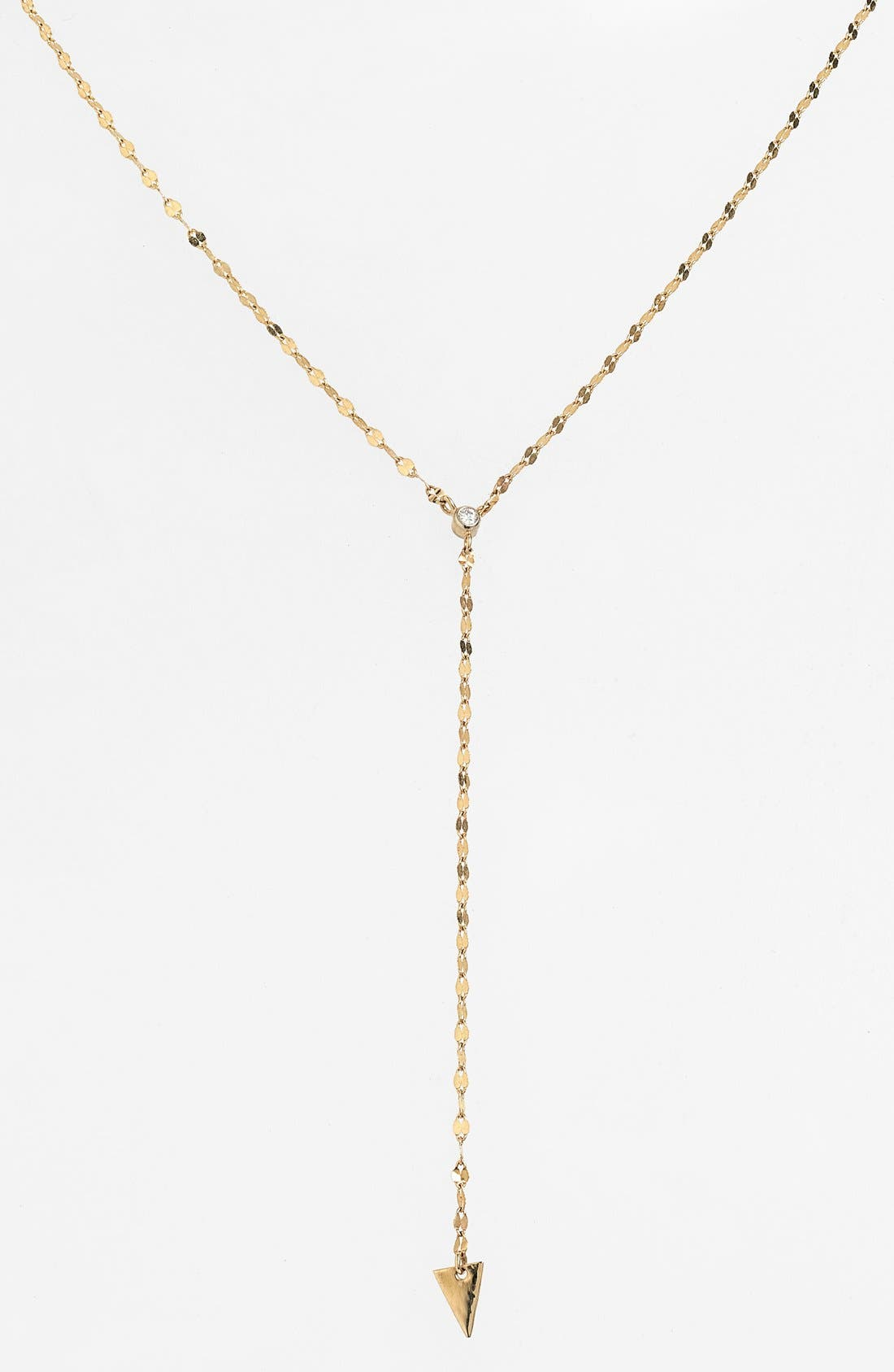 Alternate Image 2  - Lana Jewelry 'Triangle' Diamond Y-Necklace