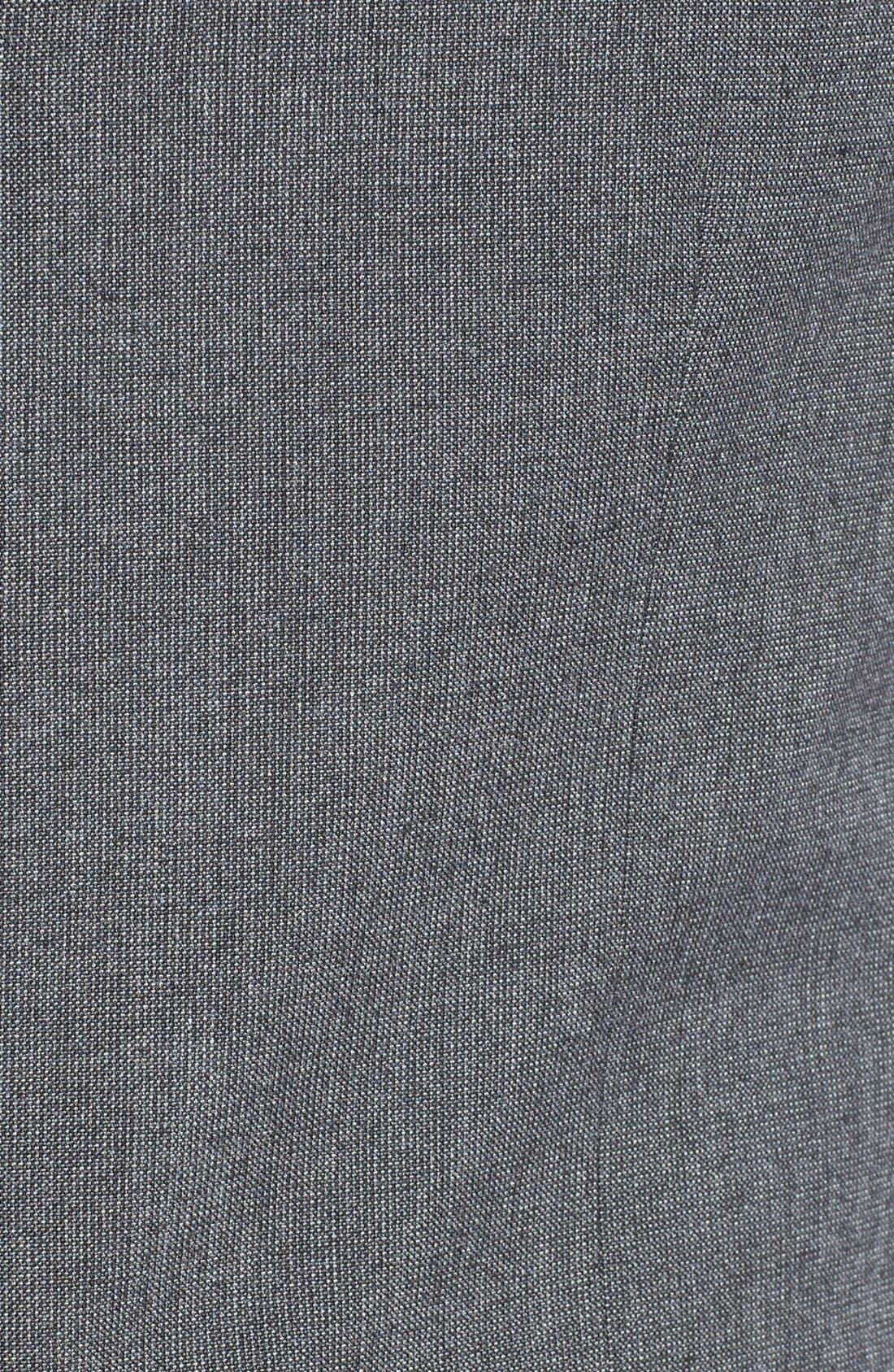 Alternate Image 3  - Topman Skinny Fit Grey Vest