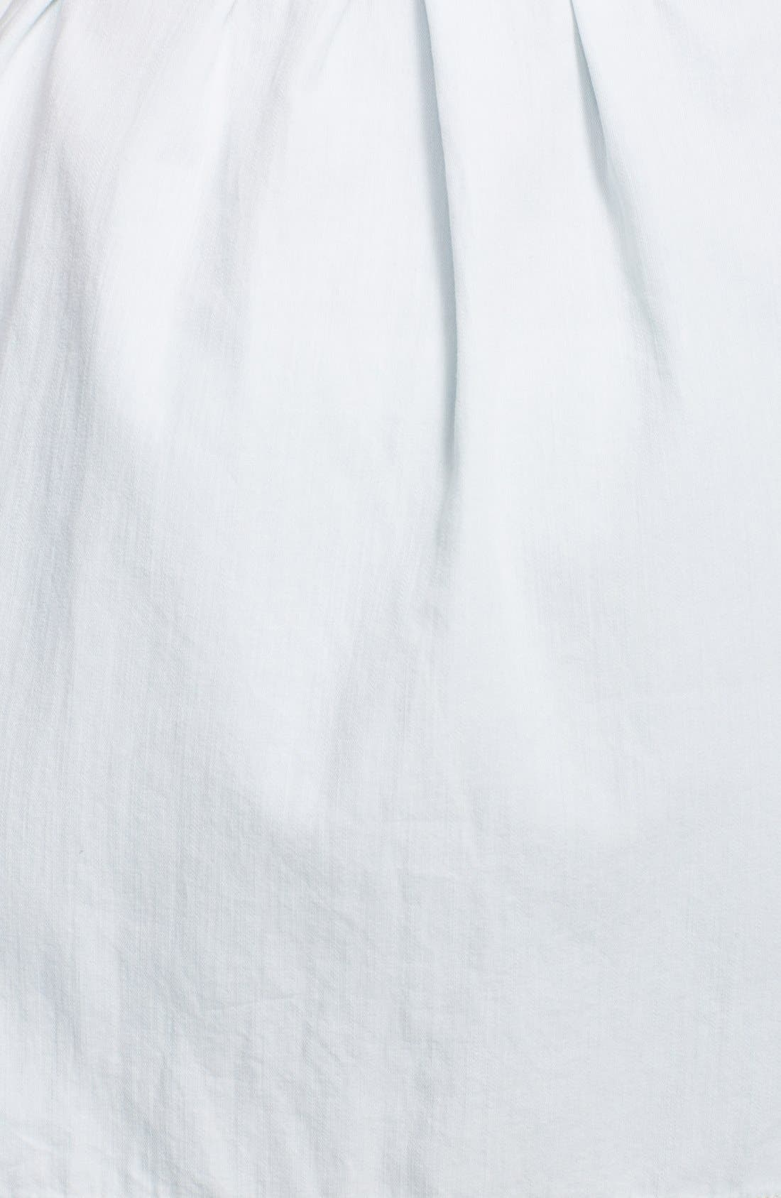 Alternate Image 3  - Current/Elliott 'The Craftsman Smock' Cotton Dress
